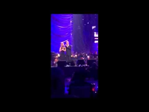 Celine Dion & Andrea Bocelli 2015