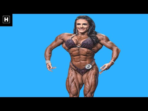 Insanely Shredded Female Bodybuilder | Natalia Coelho