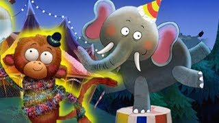 Спокойной ночи цирк-мультик игра про цирк видео для детей #МУЛЬТИКЕКС
