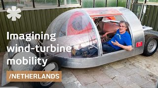 Wind turbine cars, whimsical houseboats & bikes of Oskar de Kiefte