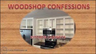 Kitchen Cabinet Build