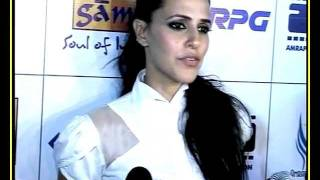 Gandhi To Hitler - Music Launch - Neha Dhupia on her character, kissing scene & more