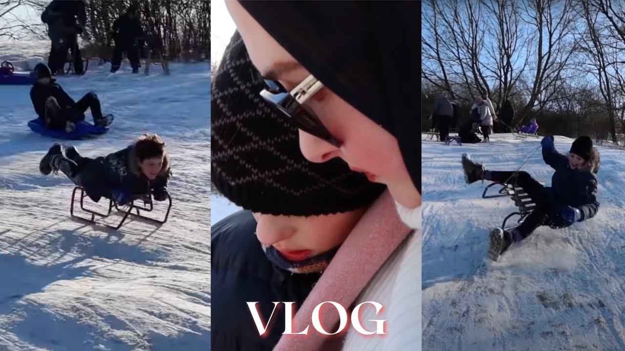 Schlittenfahren | Ein Kind hat sich verlaufen | Weekend Vlog | Berliner Sechslinge