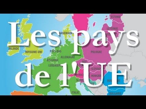 Les pays de l'Union européenne