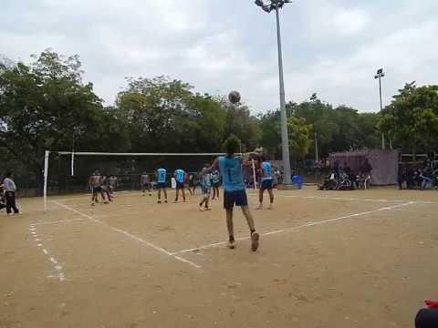 Inter IIT Sportech' 16 Volleyball Final IIT Delhi vs IIT Kanpur set-3