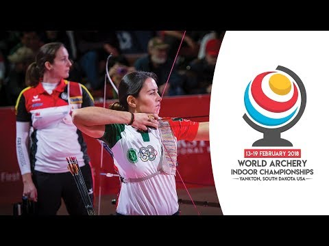 Elena Richter v Aida Roman – recurve women's gold final |Yankton 2018