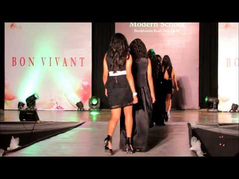 Fashion Show at Modern School, New Delhi by Bhavyaa