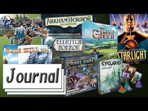 Spiele Journal 19.08.2016 News rund um Brettspiele, Comics, P&P und Tabletop