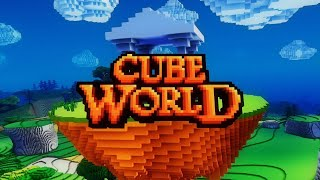 O QUE ACONTECEU COM: CUBE WORLD? #CubeWorld