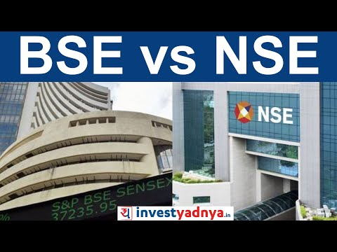 NSE vs BSE in India | Difference between SENSEX and Nifty |