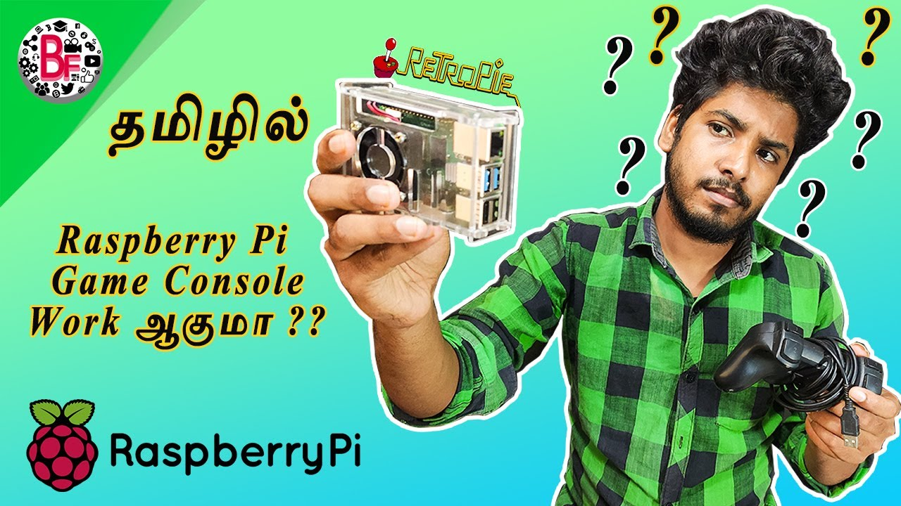 Raspberry Pi Mutiple Gaming Console (2020) - தமிழில்