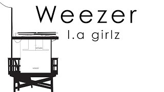Weezer- L.A girlz Lyrics video Alexander Huamani.