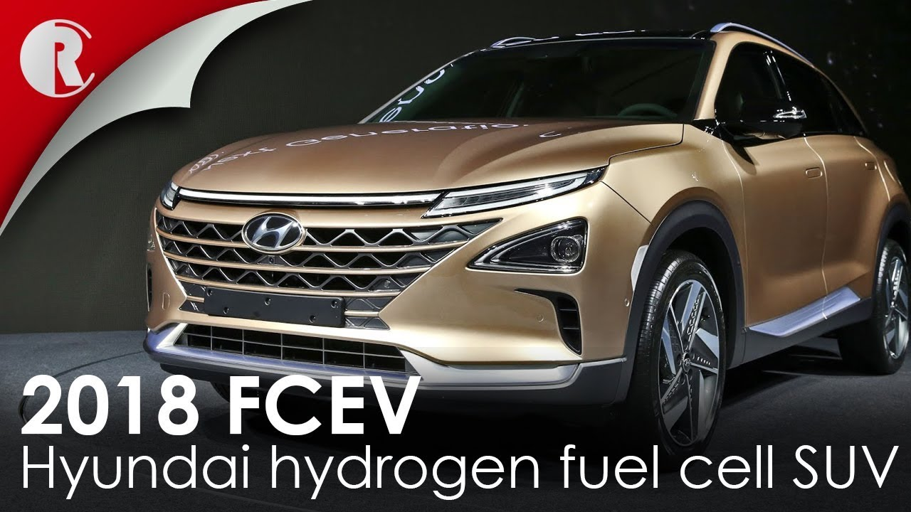 Amazing Hyundai Hydrogen Fuel Cell SUV 2018 Revealed;featuring A Driving Range Of  About 800 Kilometres.