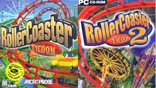 Roller Coaster Tycoon ONE vs. TWO