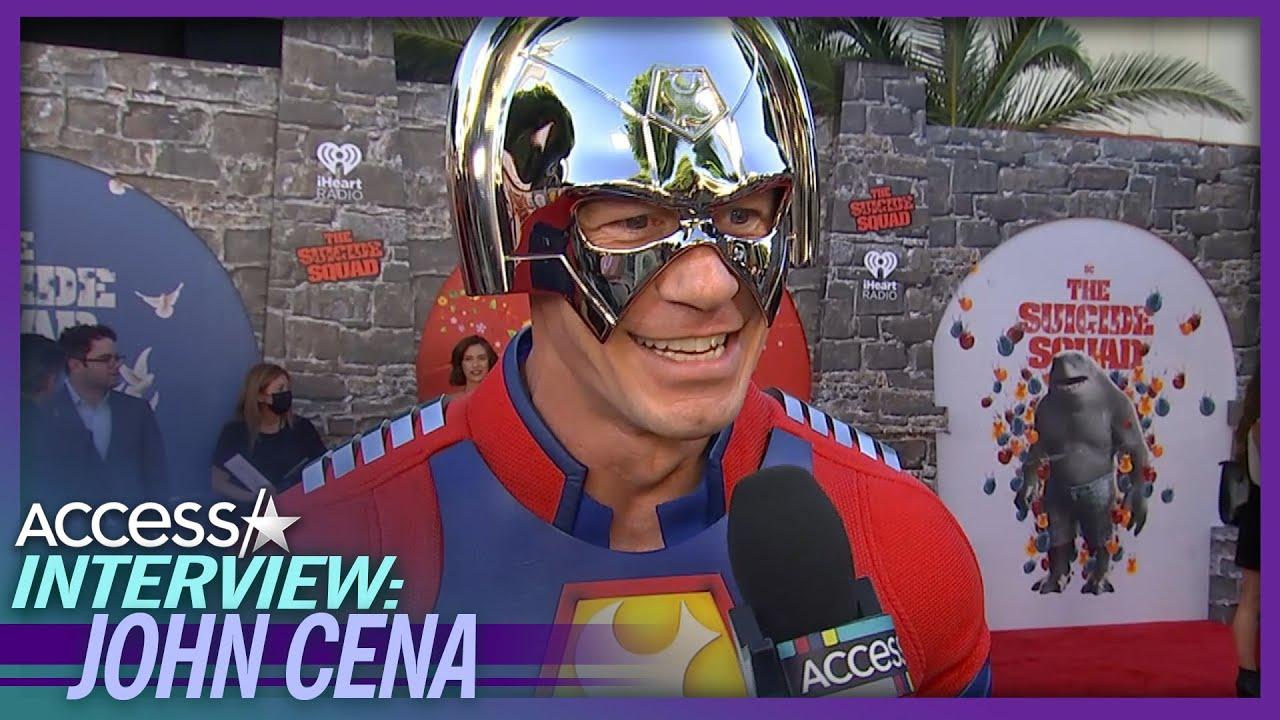 Why John Cena Wore 'Suicide Squad' Superhero Costume To Premiere