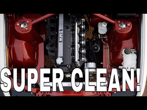 HOW TO SUPER-CLEAN YOUR ENGINE BAY
