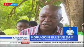 Koru - Soin dam construction causing bad blood between residents and Kisumu County Government