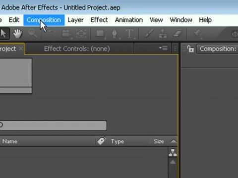 hướng dẫn sử dụng Adobe After Effects
