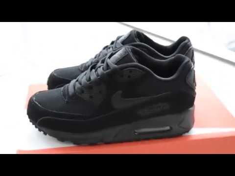 Кроссовки женские Nike Air Max 90 черные
