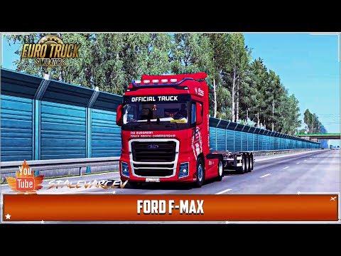 Euro Truck Simulator 2 ➤ Ford Trucks F-MAX от SimulasyonTurk. Для (1.35-1.36)