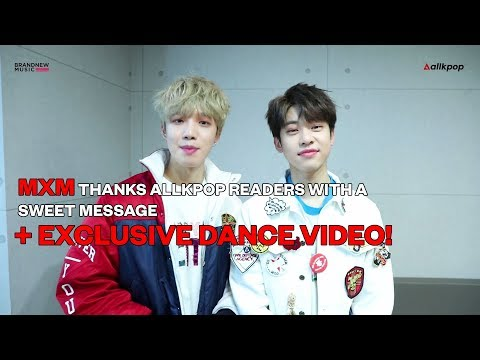 "MXM thanks allkpop readers + Exclusive ""Diamond Girl"" Dance Video!"
