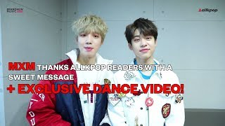 MXM thanks allkpop readers + Exclusive
