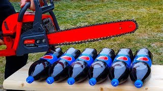 CHAINSAW vs PEPSI TEST