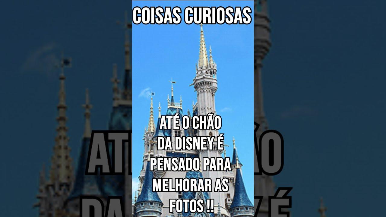 ATÉ O CHÃO DA DISNEY É PENSADO PARA MELHORAR AS SUAS FOTOS !!