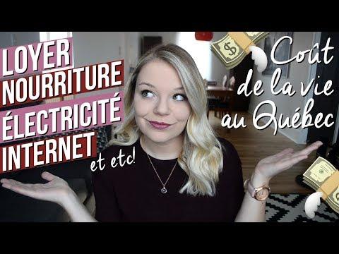 Le coût de la vie au Québec 💸 | Budget mensuel: loyer, nourriture, électricité, internet et +