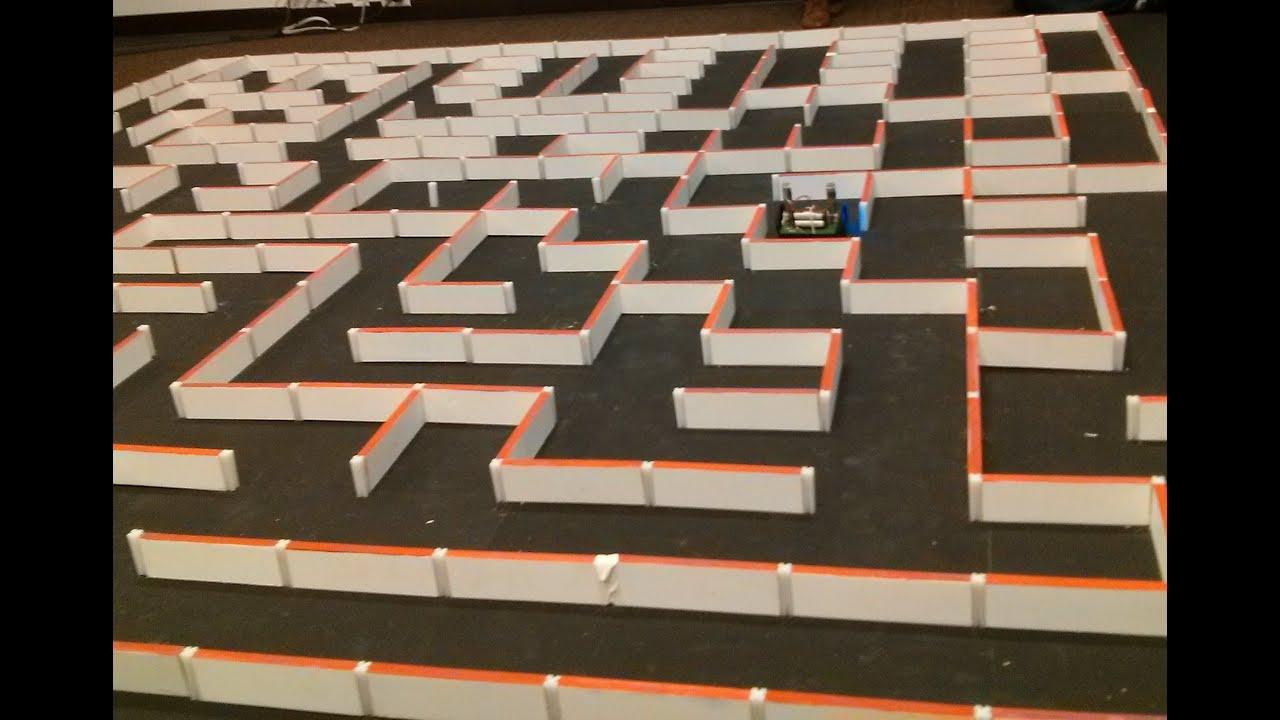 Autonomous maze solving robot youtube