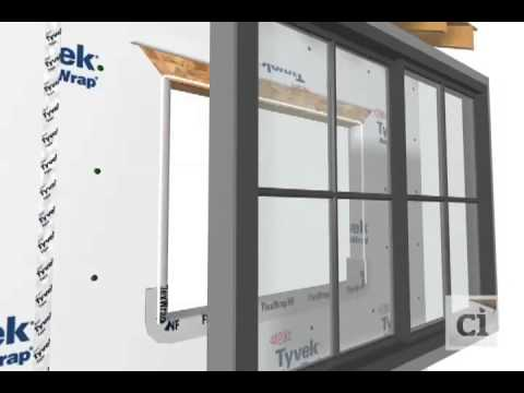 How to install Windows AFTER DuPont™ Tyvek® HomeWrap®