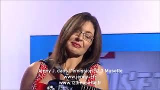 Emission 1,2,3 musette Jenny J interprète Bachatita