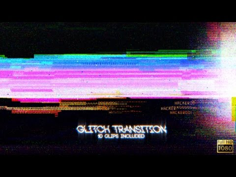 Glitch Transition - After Effects Template - YouTube