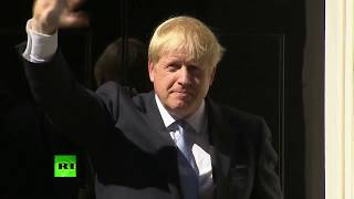 LIVE: Boris Johnson leaves Buckingham Palace after meeting the Queen