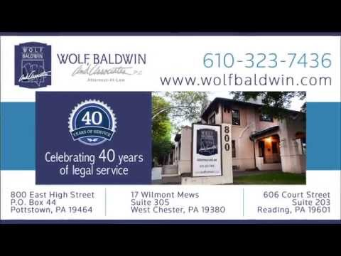 What you can expect when you meet with and hire one of the attorneys at Wolf, Baldwin & Associates, P.C.