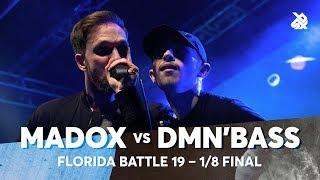 MADOX vs DMN'BASS | Florida Beatbox Battle 2019 | 1/8 Final