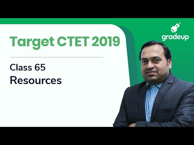 Target CTET 2019 | Class 65 | Resources | SST By Abhishek Ajay Singh