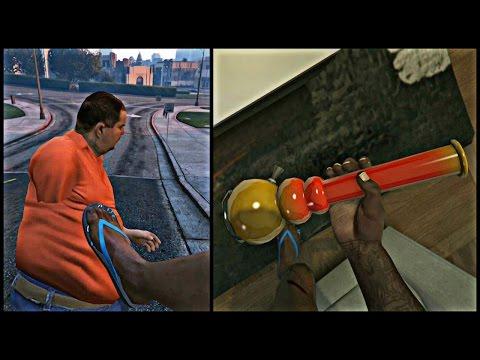 GTA 5 Online - Kickin Fat Niggas In The Chest, Smoking Weed ...