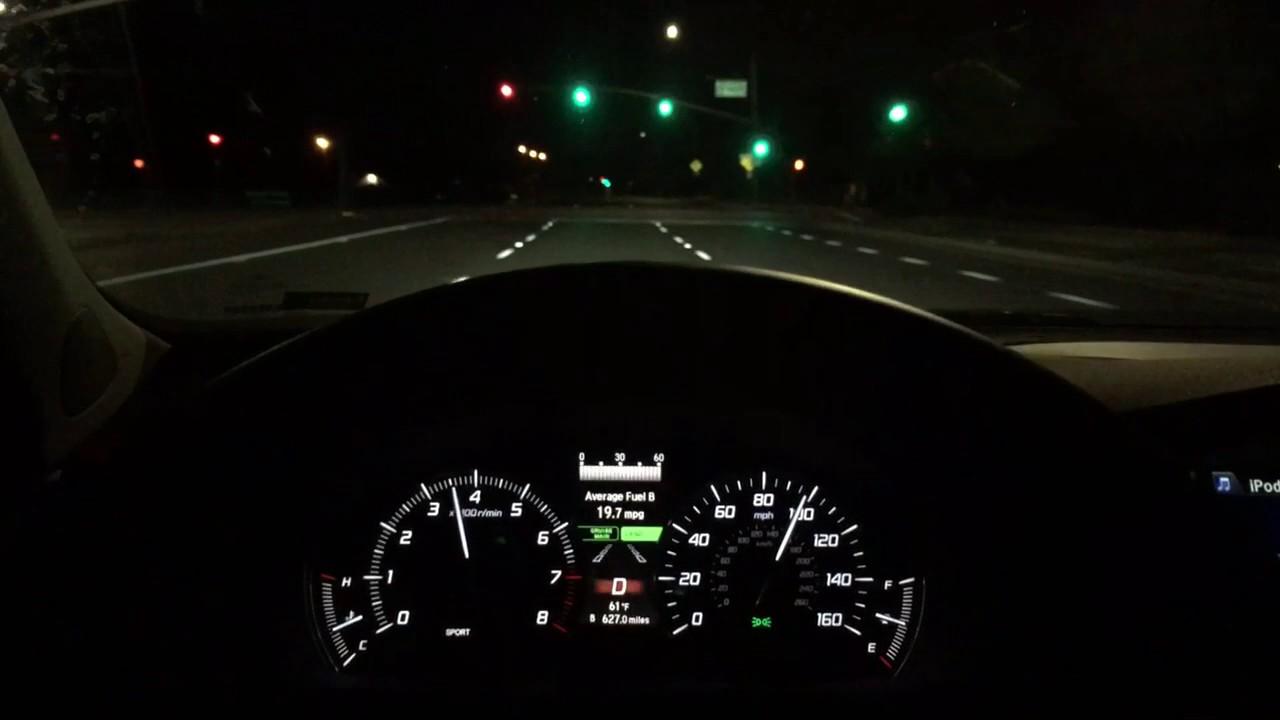 2017 Acura Tlx V6 0 60 100