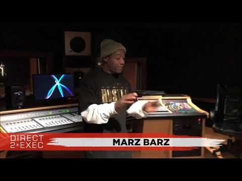 Marz Barz (@MarzBarz_25) Performs at Direct 2 Exec Los Angeles 12/5/17 - Atlantic Records