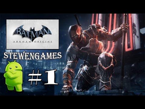 Прохождение игры Batman: Arkham Origins (Android) #1