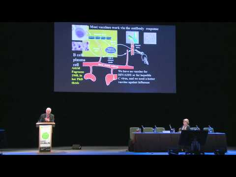 """ESOF 2012 Dublin: Peter Doherty """"Influenza: immunity and other issues"""""""