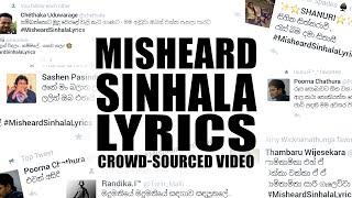 Video වැරදියට ඇහෙන සිංහල සින්දු - Misheard Sinhala Lyrics download MP3, 3GP, MP4, WEBM, AVI, FLV Maret 2018