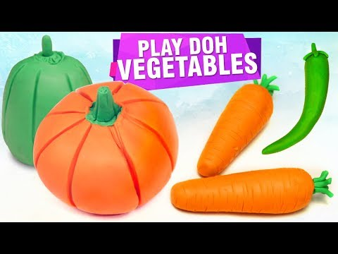 Top 5 Play Doh Ideas   How To Make Play Doh Vegetables   DIY Craft Ideas For Kids   Easy DIY