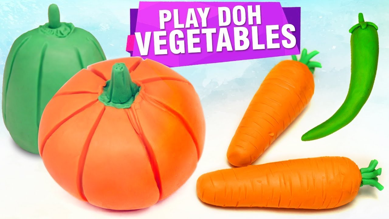 Top 5 Play Doh Ideas How To Make Play Doh Vegetables Diy Craft