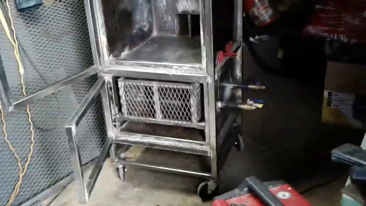 how to build carousel smoker