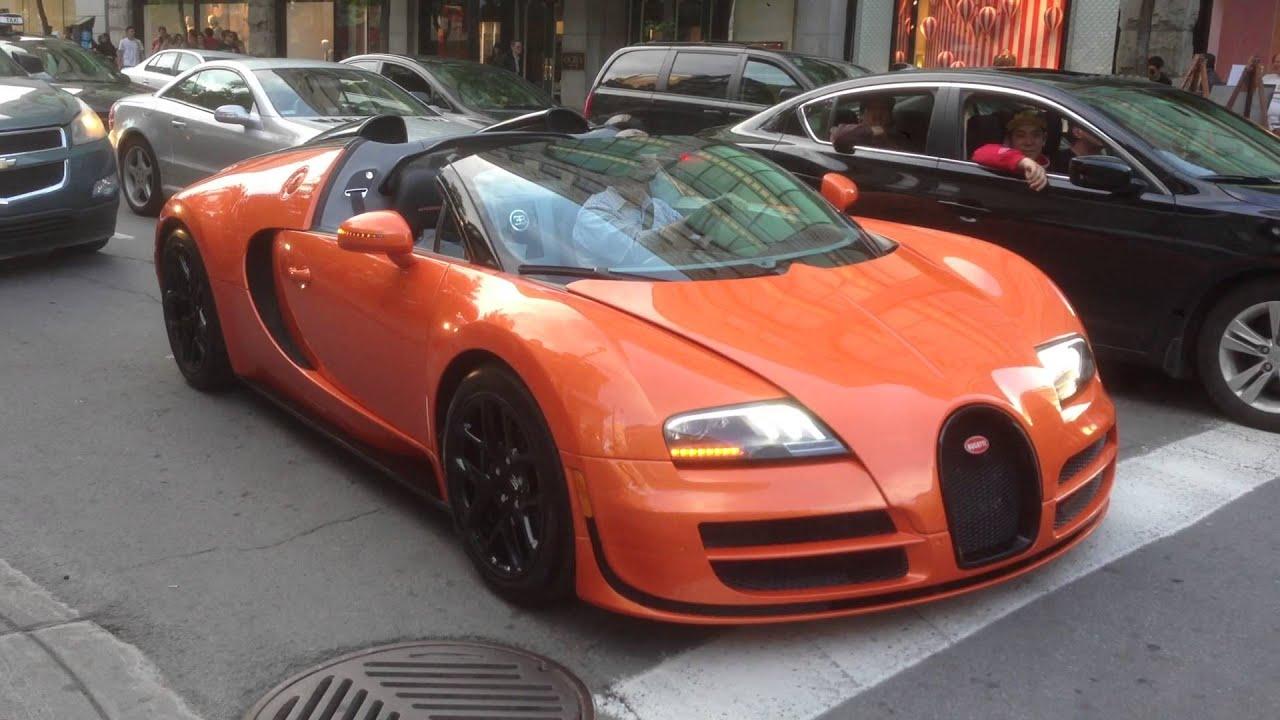 orange convertible bugatti veyron grand sport vitesse part 2 2 youtube. Black Bedroom Furniture Sets. Home Design Ideas