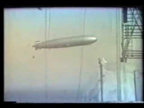 Das deutsche Luftschiff Graf Zeppelin über Montevideo (1934)