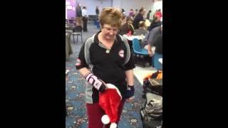 Natalie does Santa thumbnail
