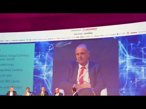 Cybertech Europe 2017 - Industry 4.0 Panel: Ansaldo Energia Cyber Industrial Strategy